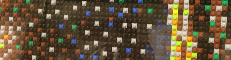 名画もレゴ