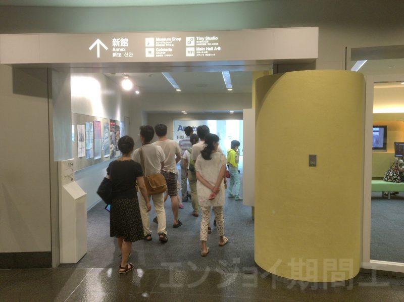 トヨタ博物館新館