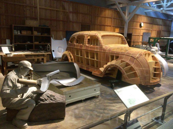 昔の車の作り方